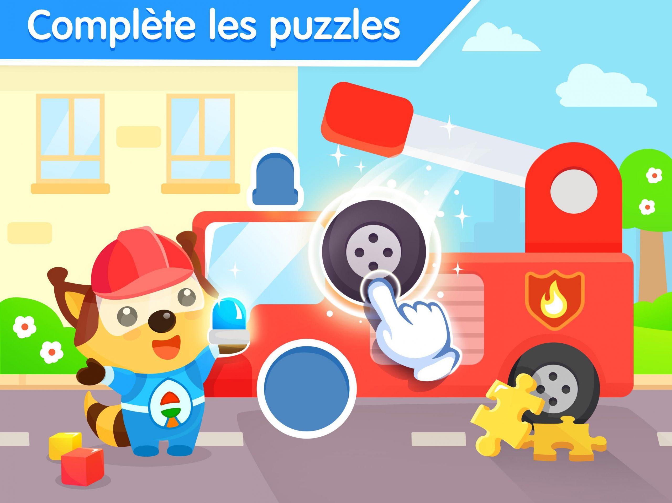 Jeux De Puzzle Pour Bebe 3 Ans - Jeu Éducatif Pour Android destiné Jeux Educatif 3 Ans En Ligne
