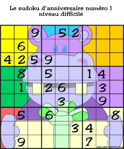 Jeux De Quelques Sudoku À Imprimer Ou À Recopier - Fr tout Jeux En Ligne 8 Ans