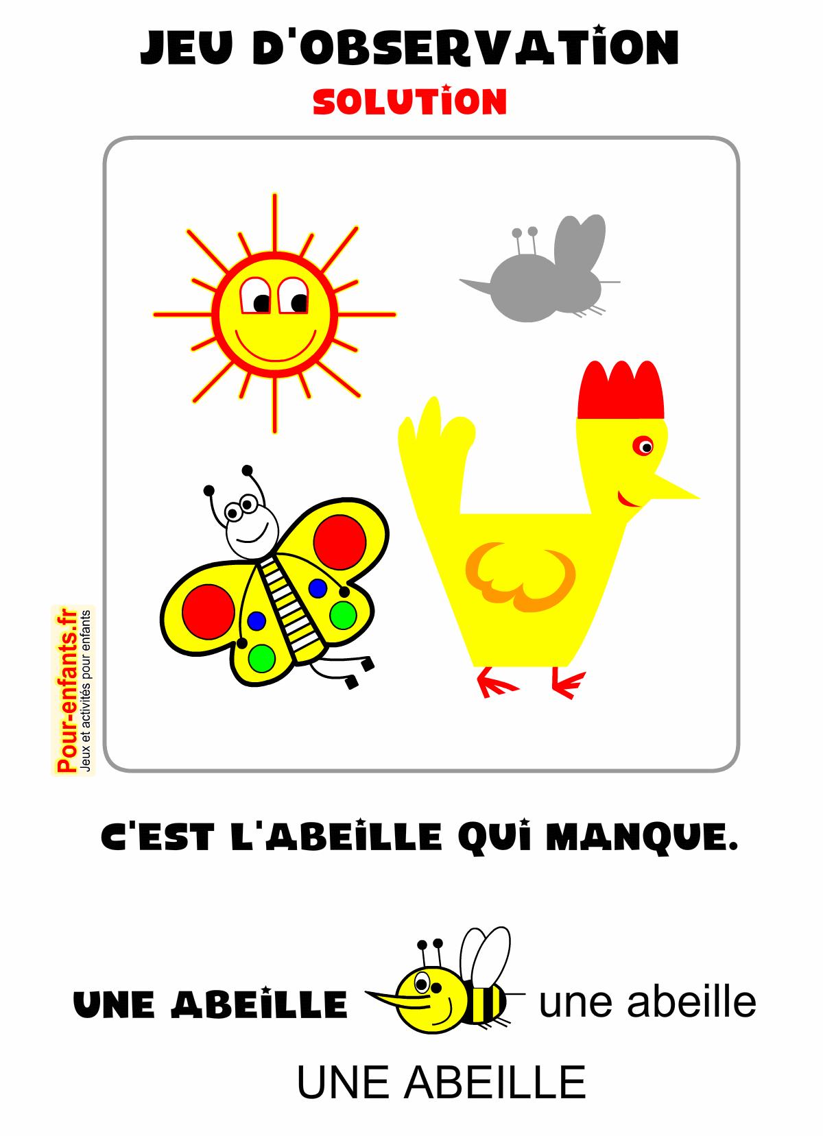 Jeux D'Observation À Imprimer Maternelle Ps Ms Gs Pour tout Jeux Ludique Maternelle
