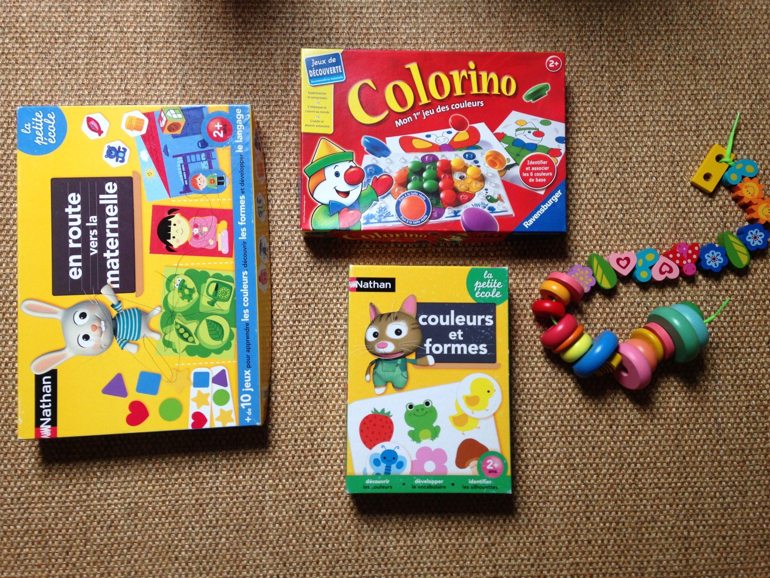 Jeux Éducatifs 18 Mois - Instruction Et Activité En Famille à Les Jeux Educatif