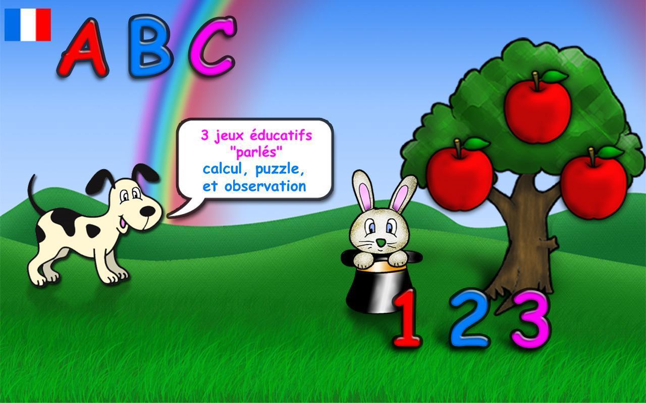 Jeux Éducatifs Pour Enfants Fr For Android - Apk Download intérieur Jeux 2 Ans Gratuit