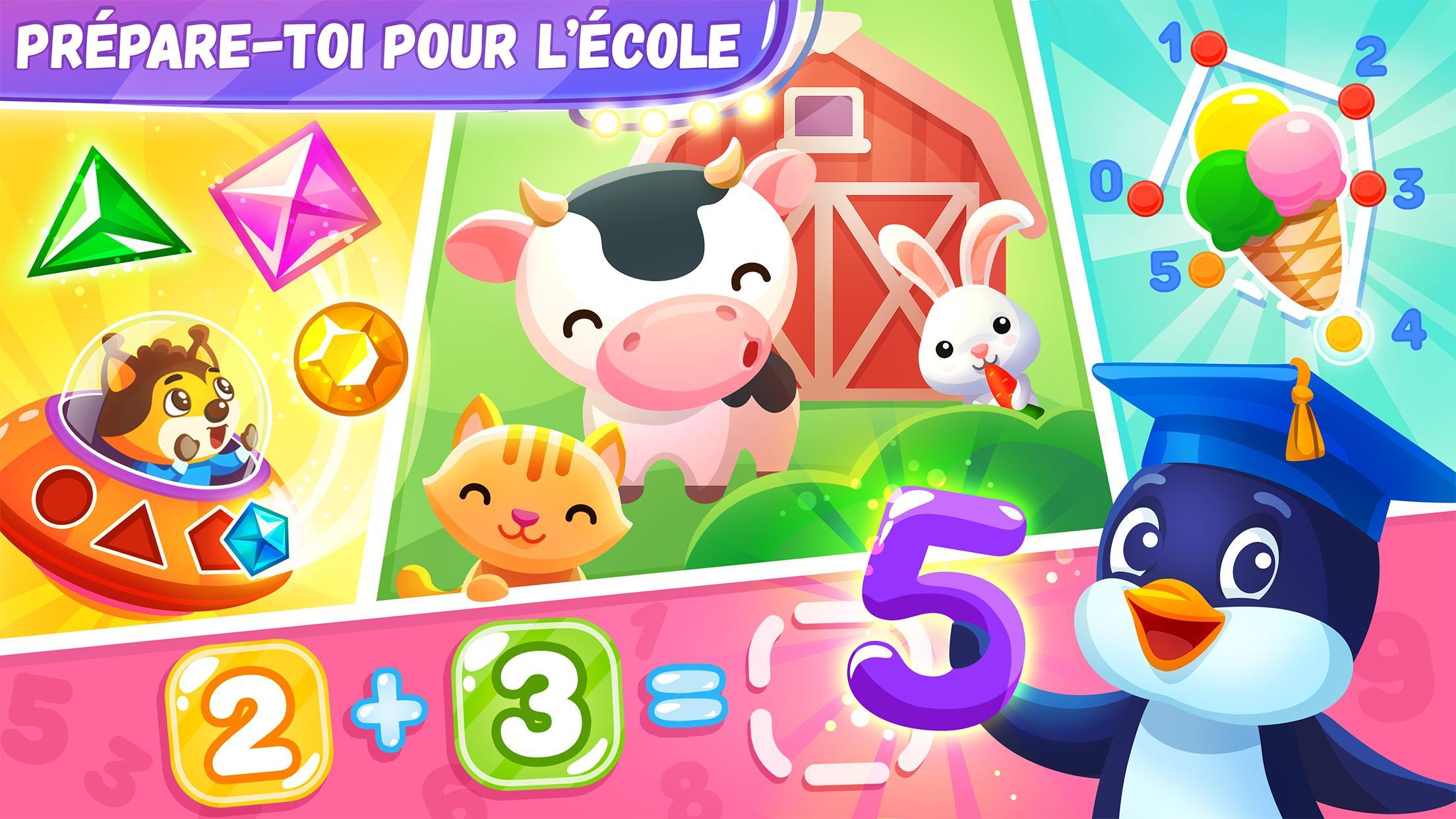 Jeux Éducatifs Pour Les Enfants De 4 6 Ans Pour Android avec Jeux Pour Enfant De 4 Ans