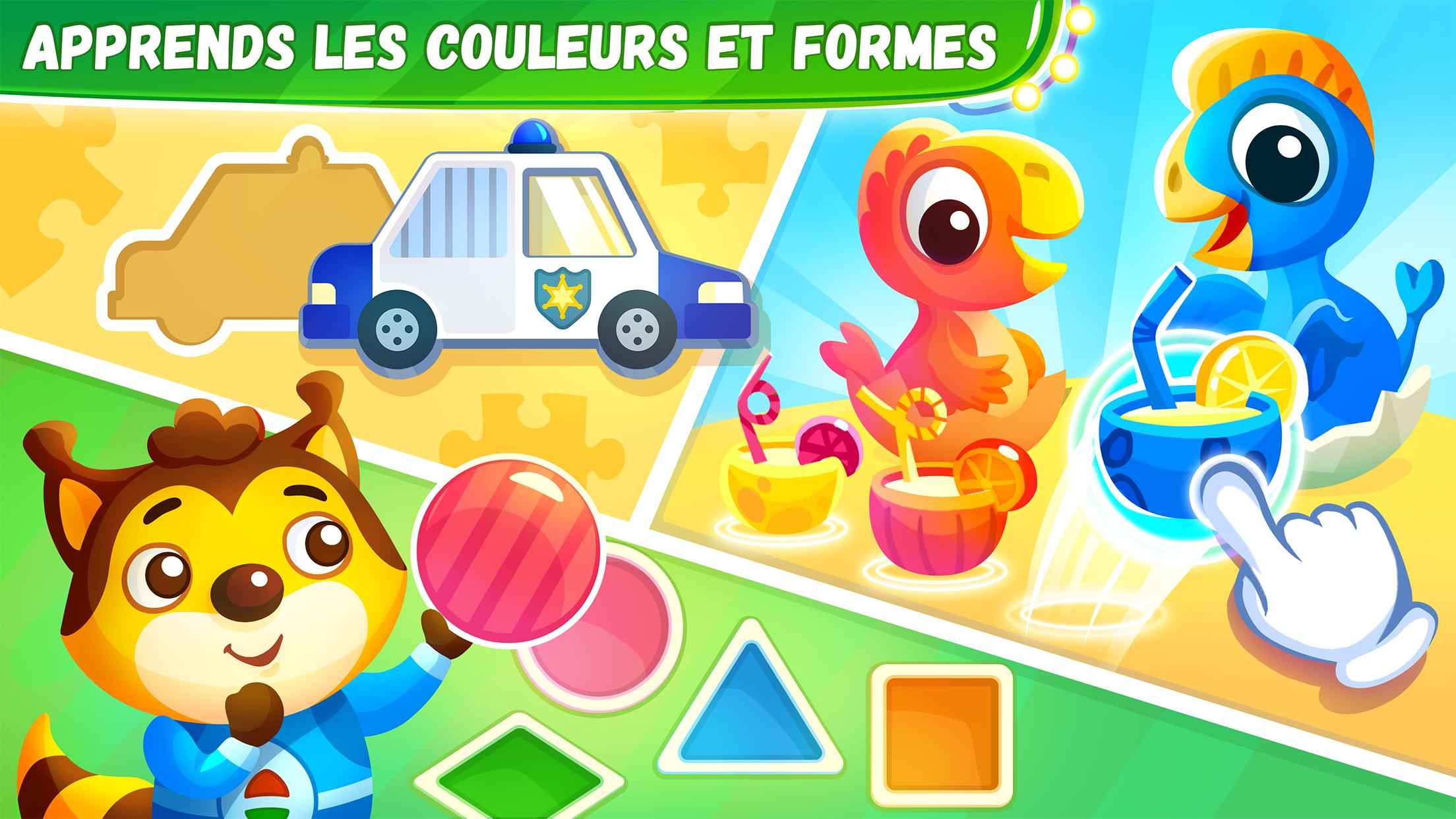 Jeux Éducatifs Pour Les Enfants De 4 6 Ans Pour Android pour Jeux Educatif 4 5 Ans