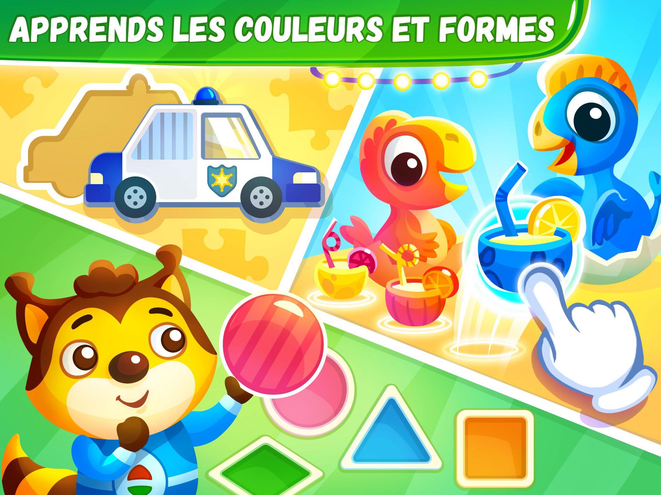 Jeux Éducatifs Pour Les Enfants De 4 6 Ans Pour Android pour Jeux Educatif Gratuit 2 Ans