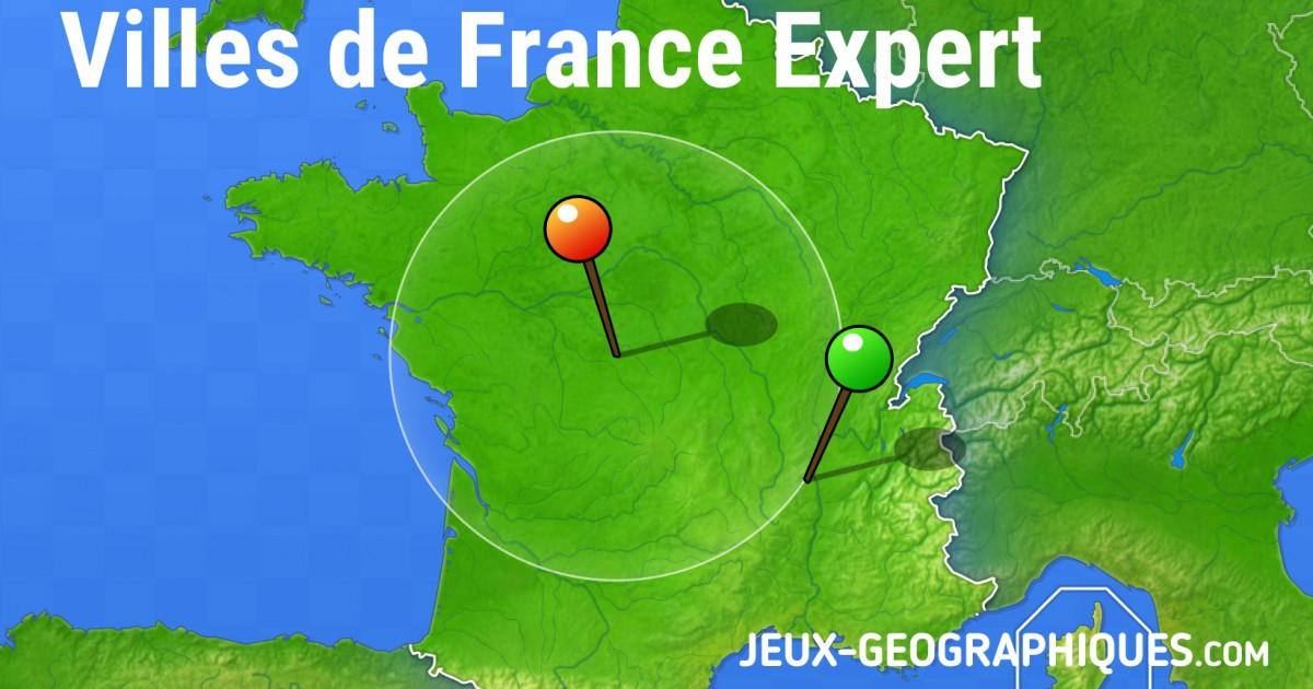 Jeux-Geographiques Jeux Gratuits Villes De France Expert encequiconcerne Jeux Geographique