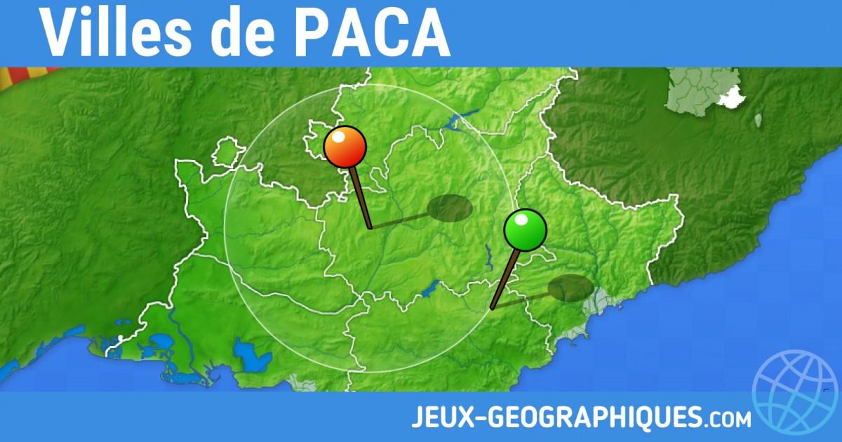 Jeux-Geographiques Jeux Gratuits Villes De Provence intérieur Jeux Geographique