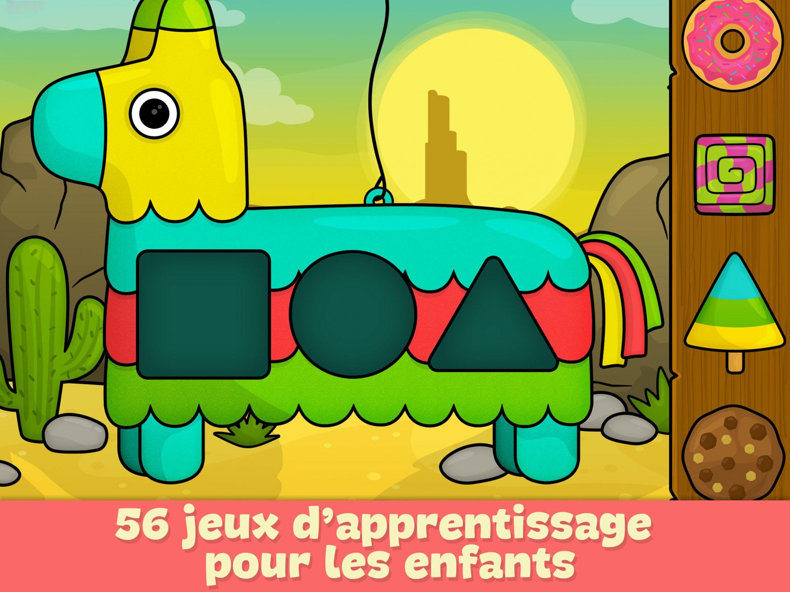 Jeux Pour Enfants 2 - 5 Ans Pour Android - Téléchargez L intérieur Jeux Educatif 5 Ans Gratuit