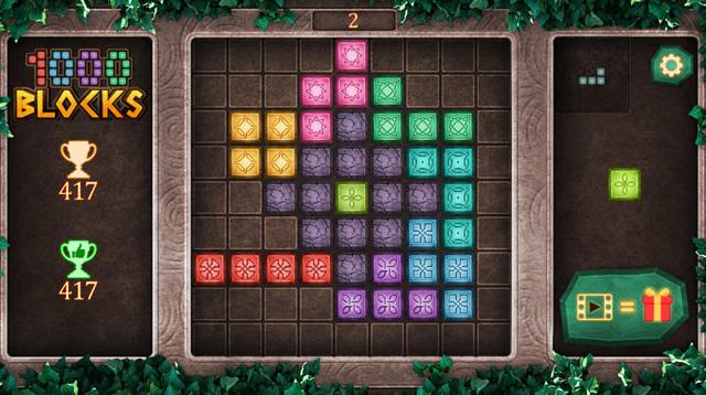 Jouer À 1000 Blocks - Jeux Gratuits En Ligne Avec Jeux à Recherche Jeux Gratuits À Télécharger