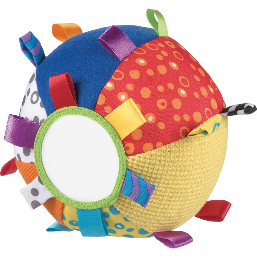 Jouet D'Éveil Bébé Balle Colorée De Playgro Sur Allobébé tout Jeux De Balle Bebe