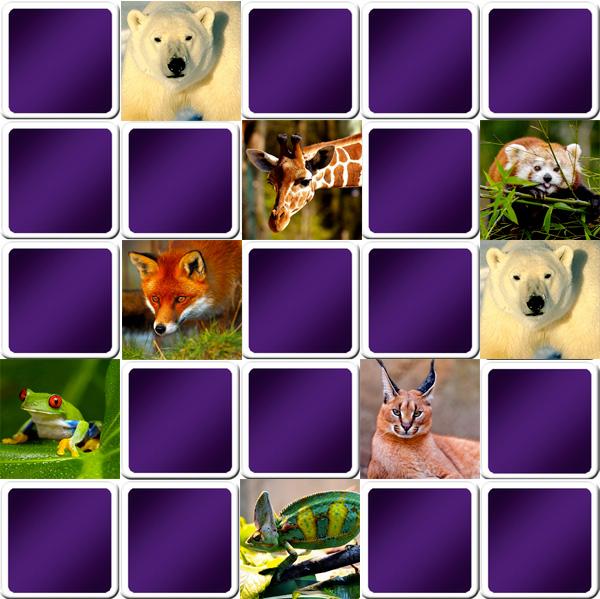 Jouez Au Grand Jeu De Memory Avec Les Animaux - Gratuit dedans Jeux De Memory Gratuit