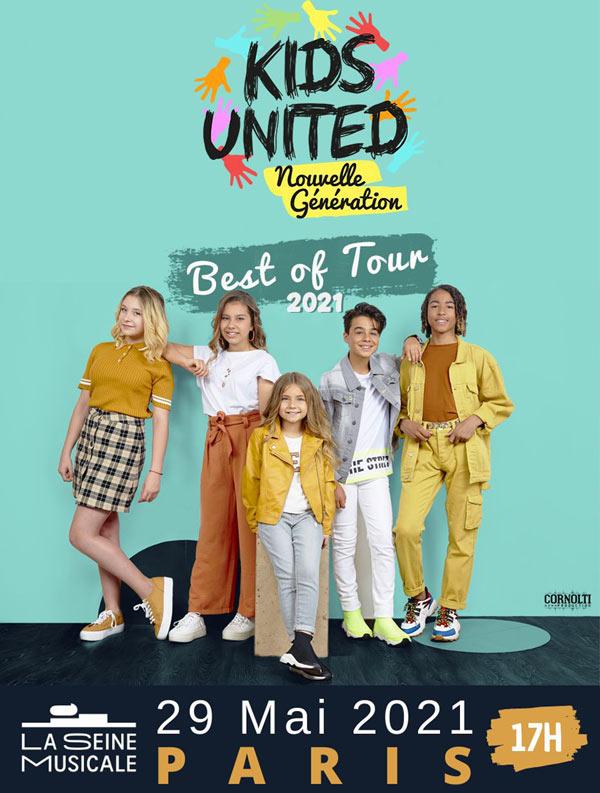 Kids United Nouvelle Generation - La Seine Musicale À concernant L Ecole Des Fan Nouvelle Generation