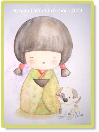 Kokeshi - Peinture-Modelage, Le Blog Des Créations De destiné Modelage Chinois