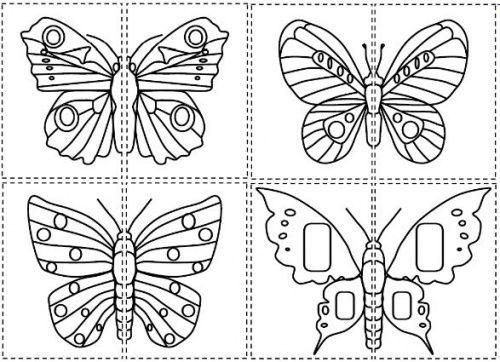 La Chenille Qui Fait Des Trous | La Chenille Qui Fait Des concernant Graphisme Papillon