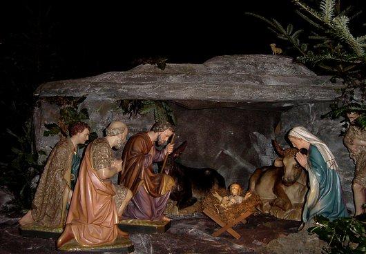 La Crèche De Noël De L'Église De Fully - Notre Histoire avec Personnage De La Creche De Noel