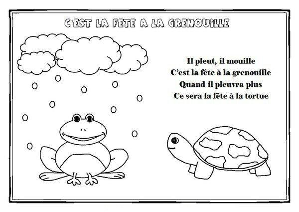 La Grenouille Météo - Nounou-Maman-Celia serapportantà Il Est Mouillé