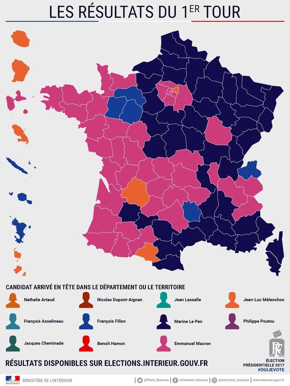 La Nouvelle Géopolitique Du Front National En France, Par tout Region De France 2017