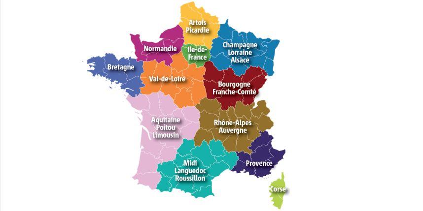 La Reforme Territoriale - Union Des Maires De Dordogne serapportantà Nouvelles Régions De France 2017