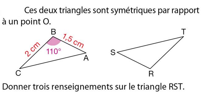 La Symétrie Centrale : Exercices De Maths 5Ème (Cinquième tout Symétrie A Imprimer