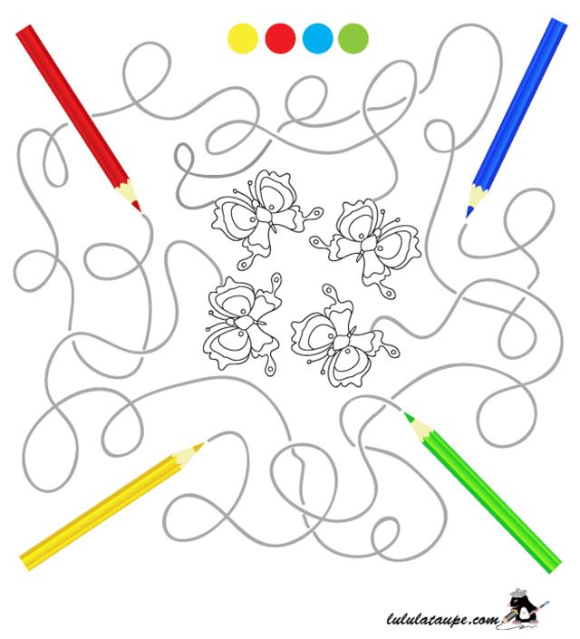 Labyrinthe Gratuit À Imprimer - Lulu La Taupe, Jeux dedans Jeux Ludique Pour Enfant