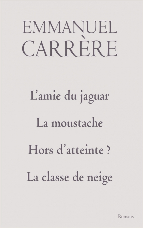 L'Amie Du Jaguar, La Moustache, Hors D'Atteinte ?, La intérieur La Classe De Moustache