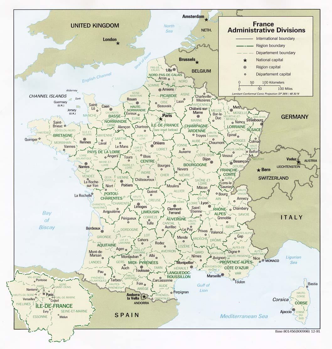 Landkarte Frankreich - Freie Karten Und Landkarten serapportantà Mappe De France