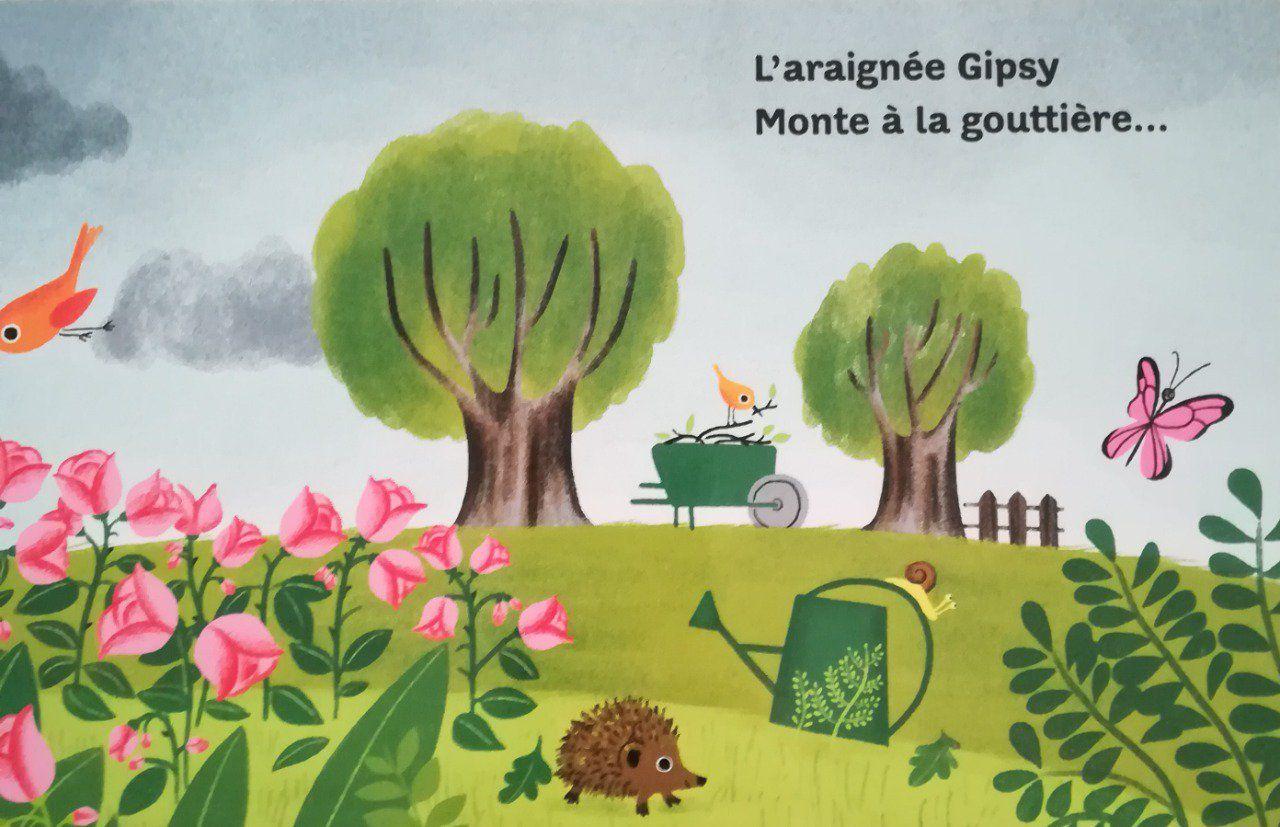 L'Araignée Gipsy - Teteenlire.fr destiné Gipsy L Araignée