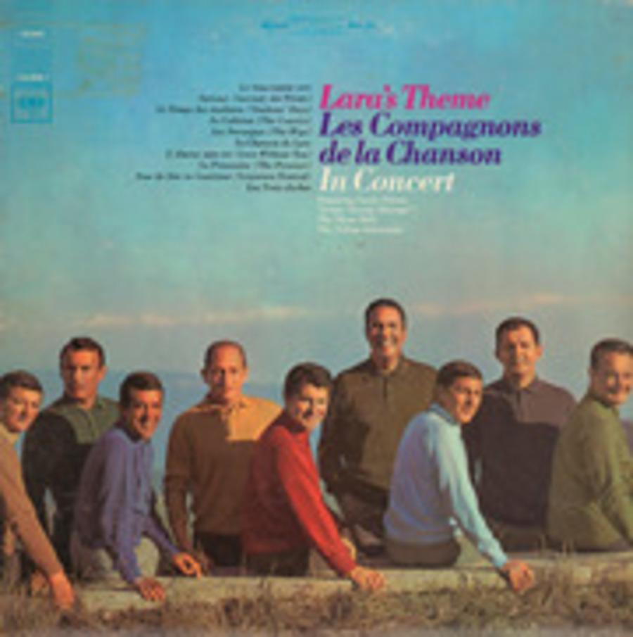 Lara'S Theme; Les Compagnons De La Chanson In Concert pour Compagnons De La Chanson