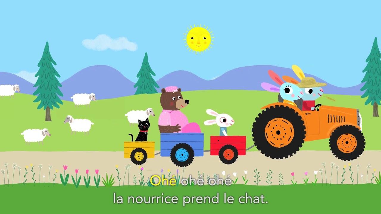 Le Fermier Dans Son Pré - Les Chansons De Pinpin Et Lili à Le Fermier Dans Son Pré