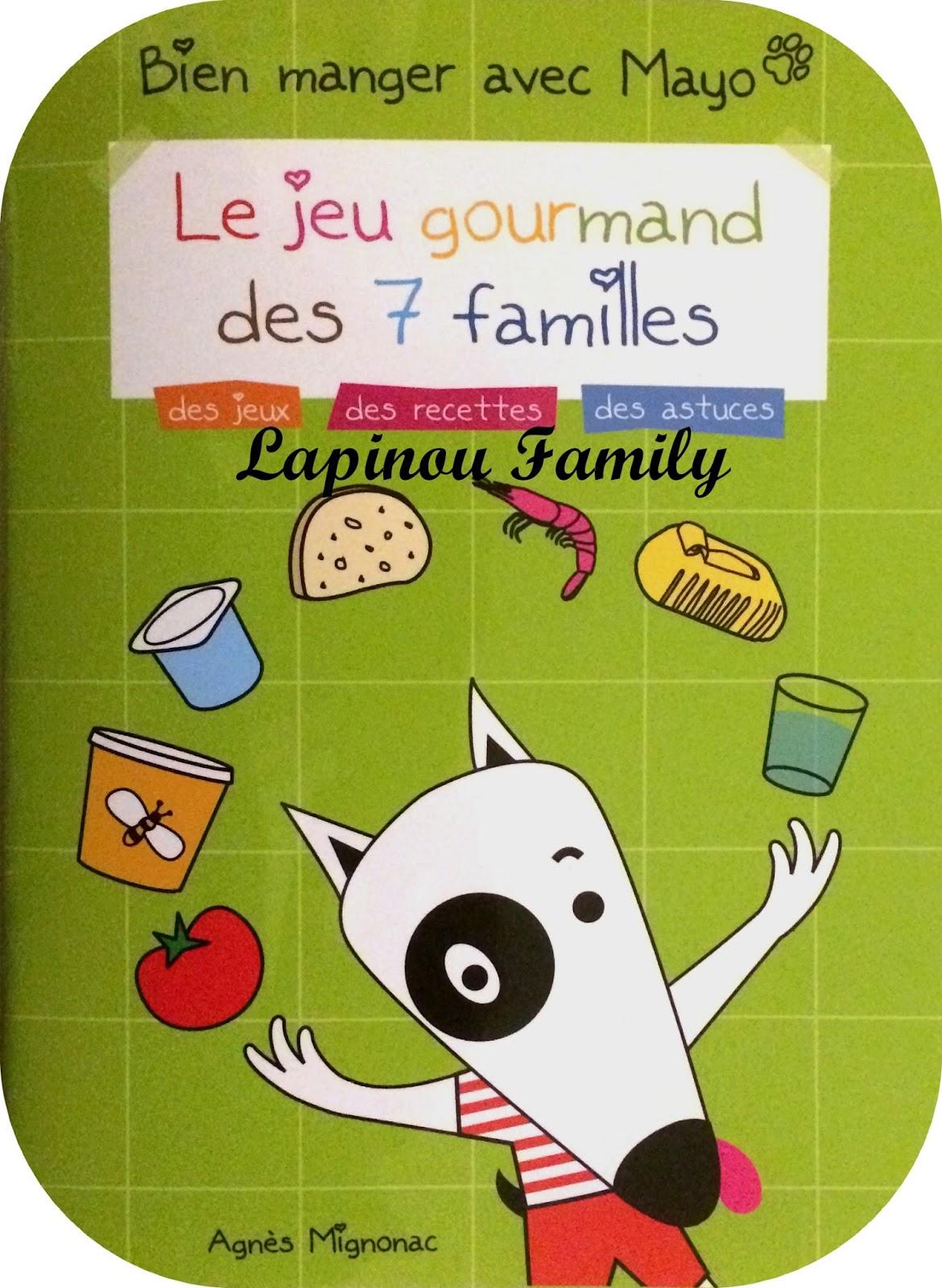 Le Jeu Gourmand Des 7 Familles. - Lapinou Family pour Les 7 Familles D Aliments