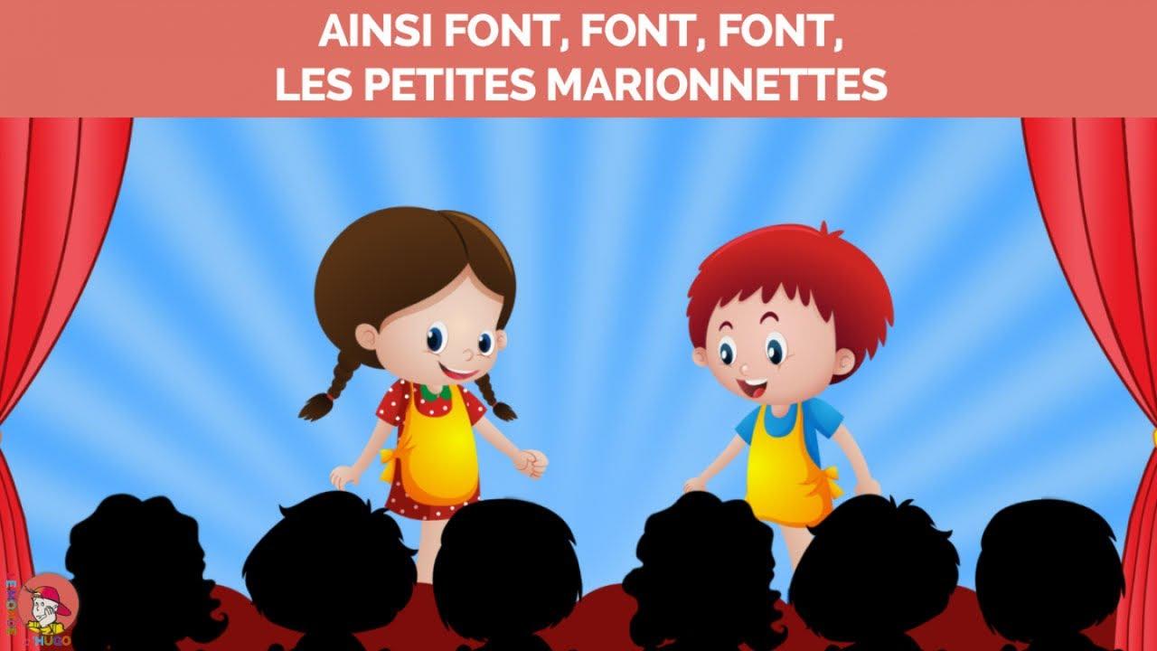 Le Monde D'Hugo - Ainsi Font, Font, Font, Les Petites pour Un Sifon Fon Les Petite Marionnette