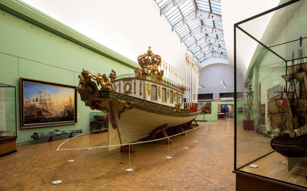 Le Musée De La Marine Met Les Voiles Pendant Cinq Ans intérieur Musée National De La Marine De Brest