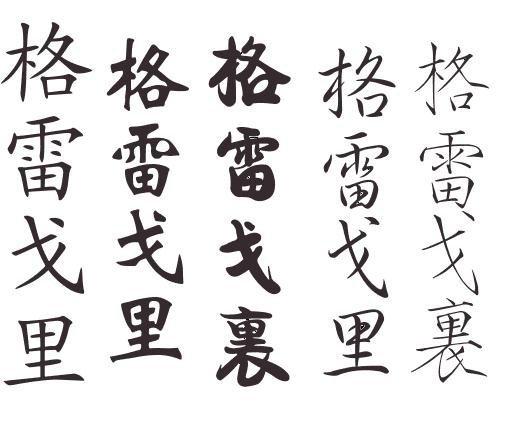 Le Prenom De Mon Homme En Lettres Chinoise - Mon Blog A Moi à Lettre Chinoise Alphabet