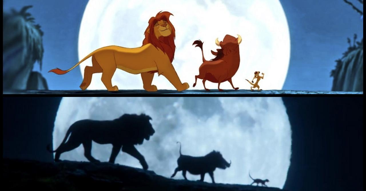 Le Roi Lion 1994 Vs. 2019 : Les Nouveaux Looks De Simba concernant Telecharger Simba Le Roi Lion
