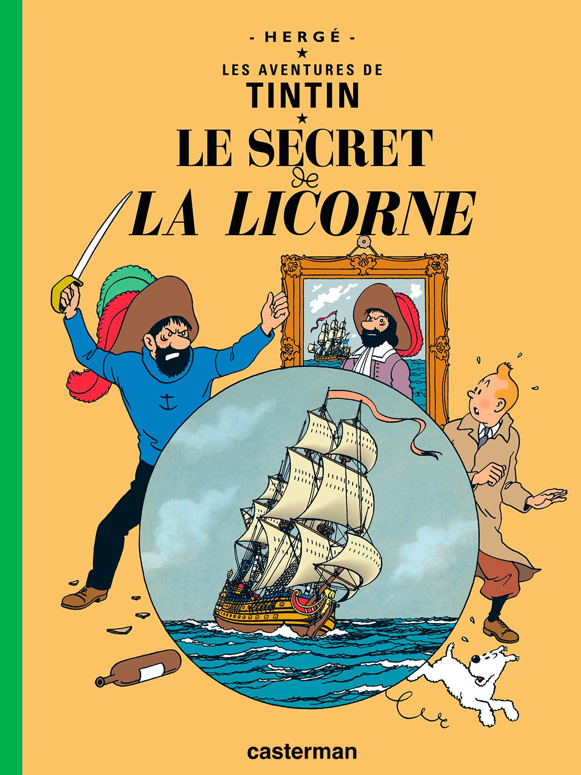 Le Secret De La Licorne - Les Aventures De Tintin, Tome 11 à La Licorne Chanson