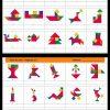 Le Tangram Est Une Sorte De Puzzle Composé De 7 Pièces. À concernant Modèle Tangram À Imprimer