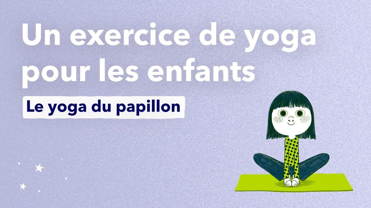 Le Yoga Du Papillon, Un Exercice De Yoga Pour Les Enfants serapportantà La Grenouille Meditation