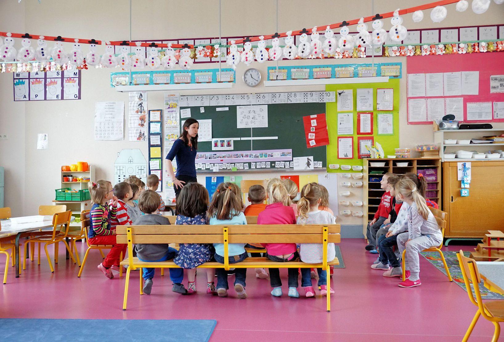 L'École Maternelle « Les Petits Princes » À Janville destiné Histoire De L École Maternelle