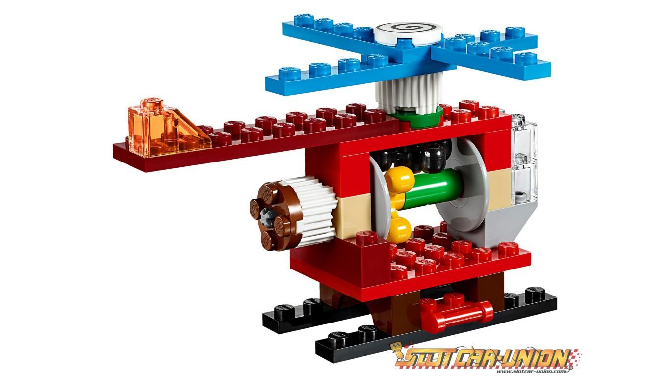 Lego 10712 La Boîte De Briques Et D'Engrenages Lego - Slot encequiconcerne Engrenage Lego