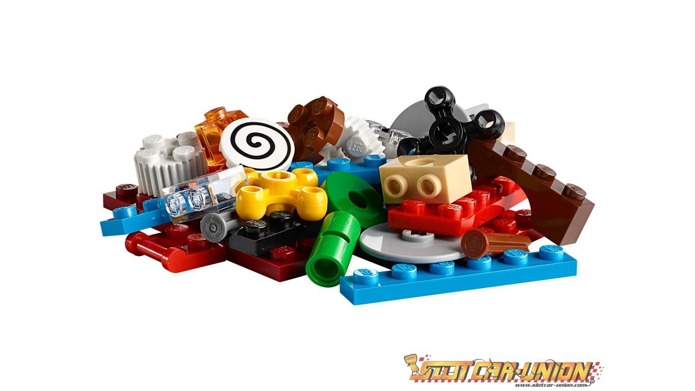 Lego 10712 La Boîte De Briques Et D'Engrenages Lego - Slot serapportantà Engrenage Lego