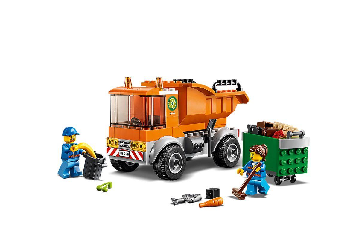 Lego City - Camion Poubelle dedans Le Doudou Des Camions Poubelles