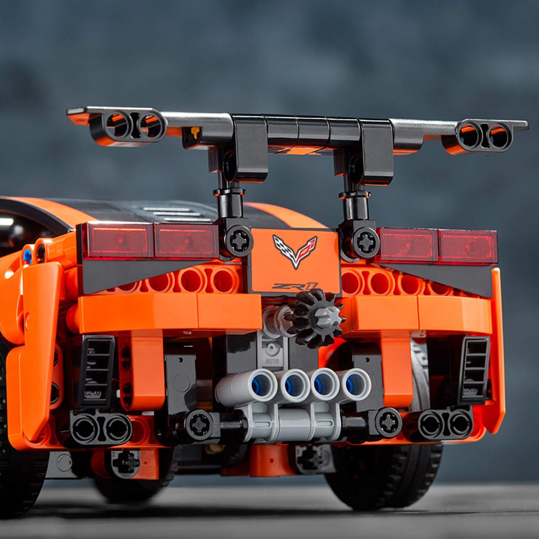 Lego® Technic Chevrolet Corvette Zr1 Jeu De Construction destiné Jeux De Construction De Voiture