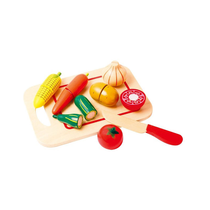 Légumes À Découper, Jeu Bois Dinette New Classic Toys 7150 concernant Jeux A Decouper