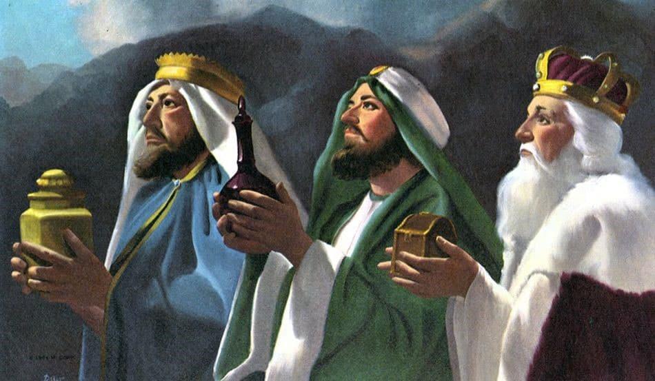 L'Épiphanie, Le Jour Des Trois Rois   Joyeux-Noel pour Les Trois Mages