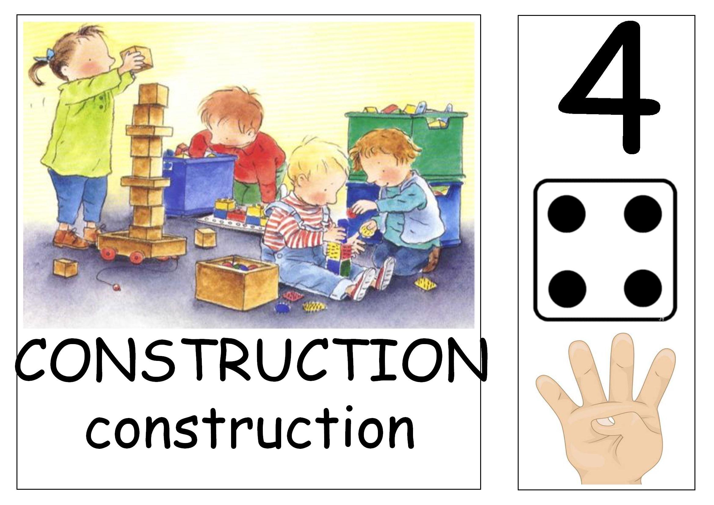 Les Affichettes Pour Les Coins Et Ateliers   Affichage à Jeux D Ecole Maternelle Gratuit
