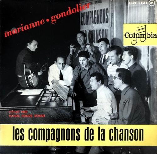 Les Compagnons De La Chanson - Marianne / Gondolier serapportantà Compagnons De La Chanson