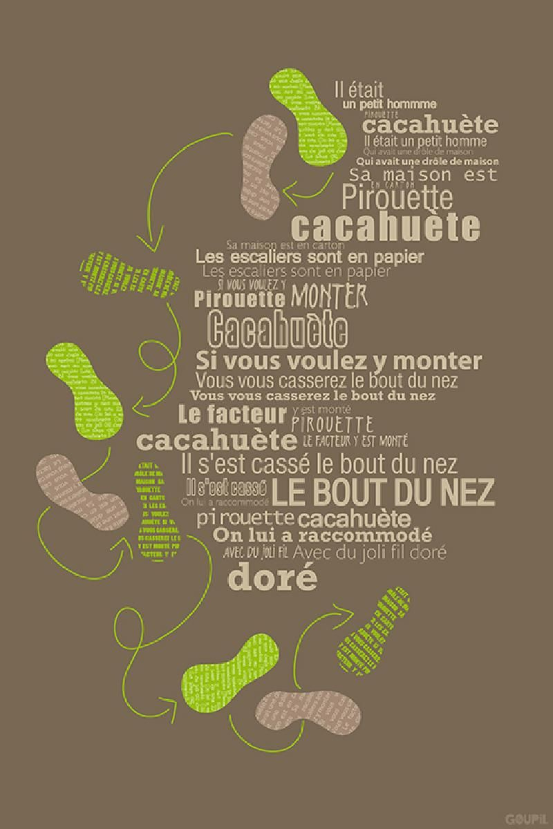 Les Comptines Pirouette Cacahouète © Capucine Sivignon intérieur Parole Petit Homme