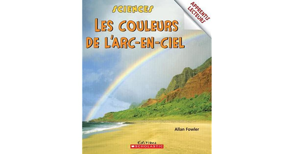 Les Couleurs De L'Arc-En-Ciel By Allan Fowler intérieur Couleur De L Arc En Ciel En Anglais