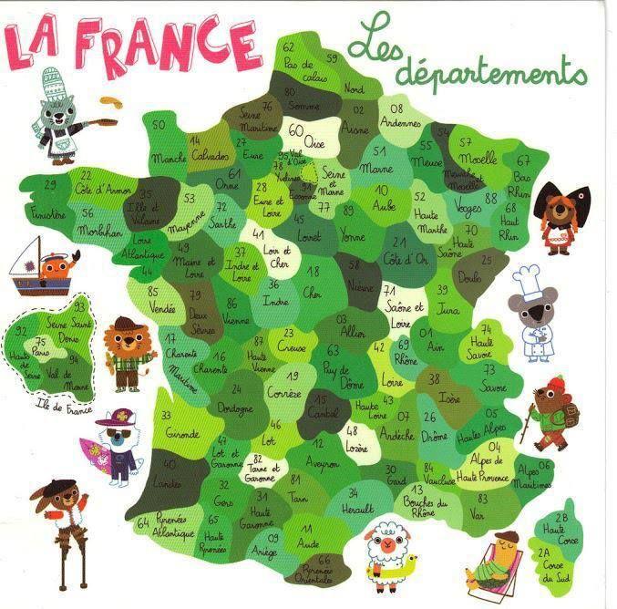 Les Départements Français   Passion Fle   Départements concernant Jeux Gratuits Departements Français