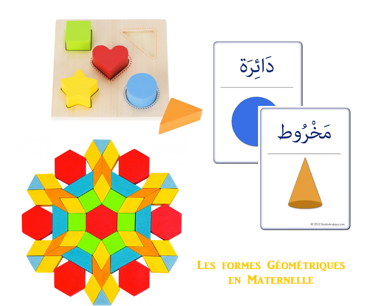 Les Formes Géométriques En Maternelle | Formes encequiconcerne Les Formes Geometrique