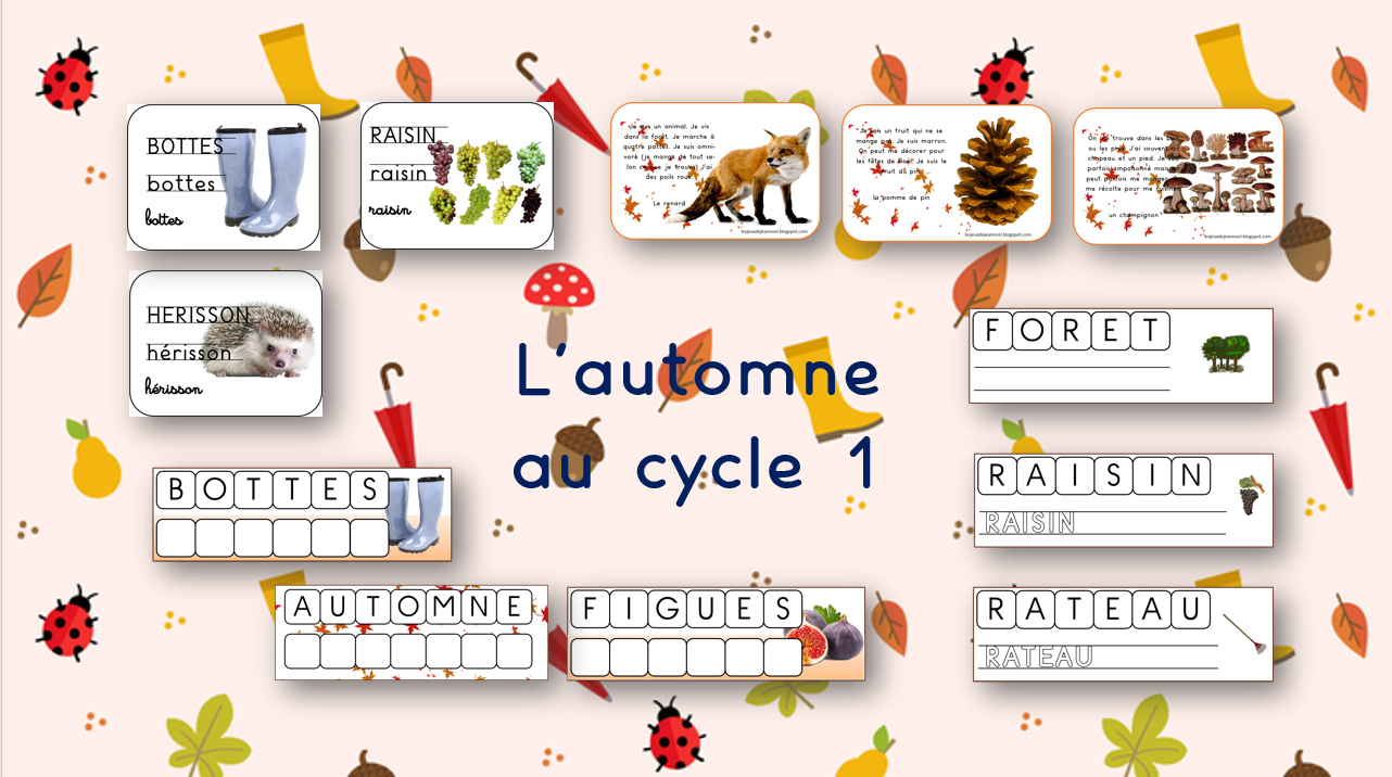 Les Jeux De Jean Noël : L'Automne Au Cycle 1 : Ateliers avec Vocabulaire Gs